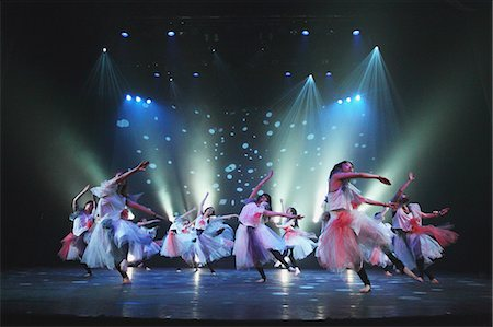 Group of dancers performing Stock Photo - Rights-Managed, Code: 859-06710995