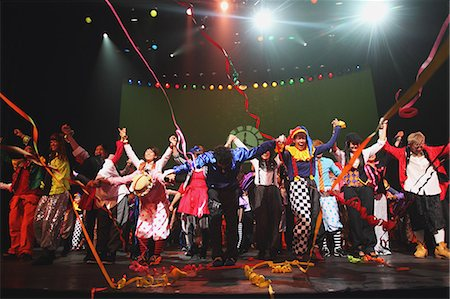 stage show - Group of dancers performing Stock Photo - Rights-Managed, Code: 859-06710997