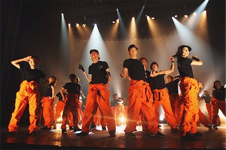 stage show - Group of dancers performing Stock Photo - Rights-Managed, Code: 859-06710992