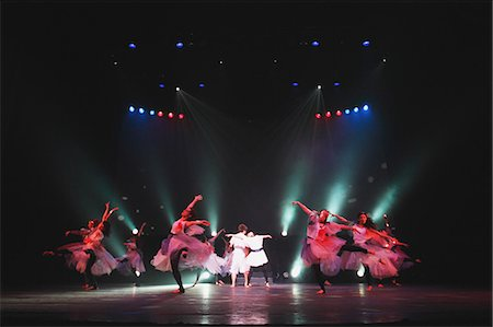 entertainment - Group of dancers performing Stock Photo - Rights-Managed, Code: 859-06711145