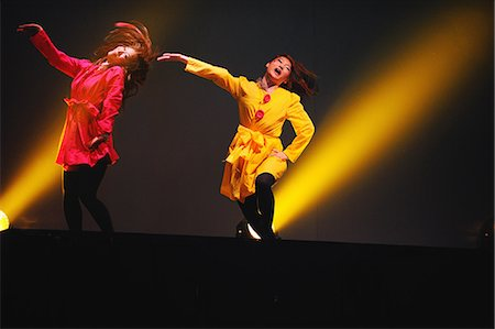 stage show - Dancers performing Stock Photo - Rights-Managed, Code: 859-06711163