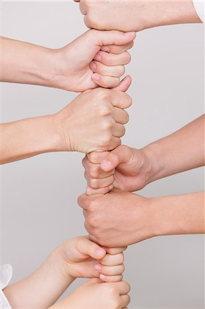 Joining hands Stock Photo - Rights-Managed, Code: 859-06808659