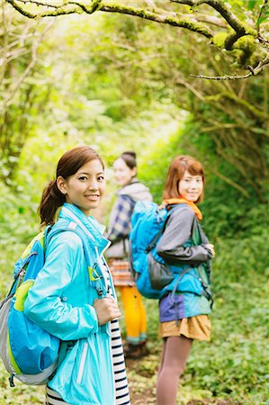 Girls in the mountains Stock Photo - Rights-Managed, Code: 859-06824604