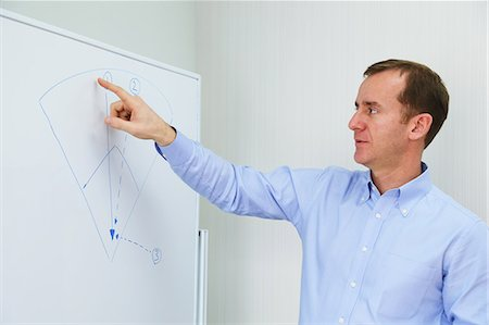 descriptive - Businessman explaining project Stock Photo - Rights-Managed, Code: 859-06824665