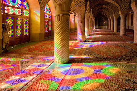 rose patterns - Roses Mosque Shiraz, Iran Stock Photo - Rights-Managed, Code: 859-07282944