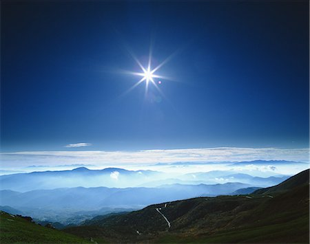 sun - South Alps From Norikura, Gifu, Japan Stock Photo - Rights-Managed, Code: 859-07283630
