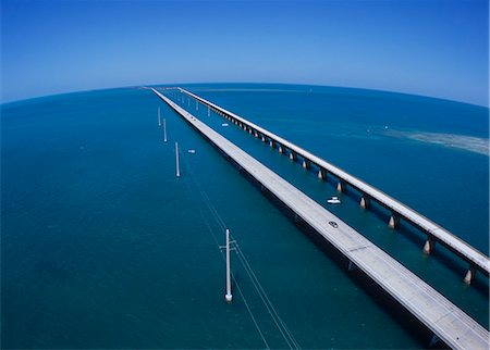 Seven mile Bridge, America Stock Photo - Rights-Managed, Code: 859-07283793