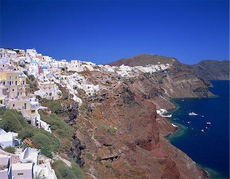 santorini - Santorini, Greece Stock Photo - Rights-Managed, Code: 859-07283839