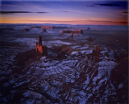 fantastically - Monument Valley, Utah, USA Stock Photo - Rights-Managed, Code: 859-07441424