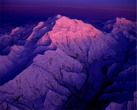 fantastically - Mount McKinley, Denali National Park, Alaska, USA Stock Photo - Rights-Managed, Code: 859-07441420