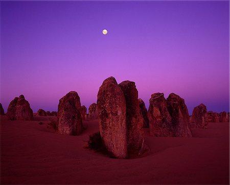 purple - Pinnacles, Nambung National Park, Western Australia, Australia Stock Photo - Rights-Managed, Code: 859-07441443