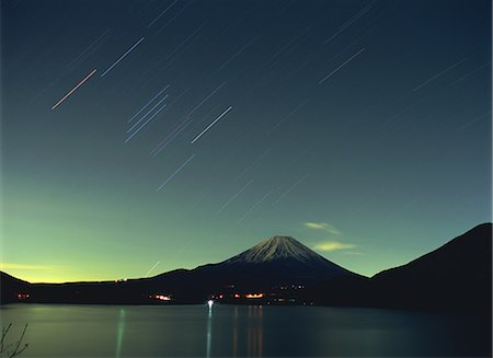 sky stars - Mount Fuji, Japan Stock Photo - Rights-Managed, Code: 859-07442267