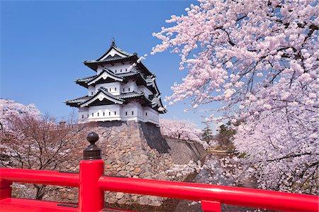 Hirosaki Castle Stock Photo - Rights-Managed, Code: 859-07495665