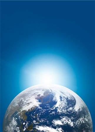 fantastically - Earth From Space Stock Photo - Rights-Managed, Code: 859-08008447