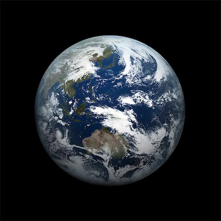 Earth From Space Stock Photo - Rights-Managed, Code: 859-08008443