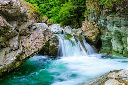 stream - Kochi Prefecture, Japan Stock Photo - Rights-Managed, Code: 859-08082503