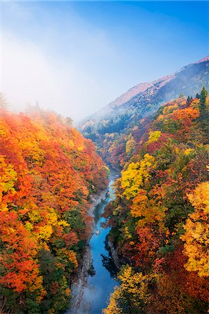 streams scenic nobody - Akita Prefecture, Japan Stock Photo - Rights-Managed, Code: 859-08358666