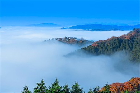 fog (weather) - Okayama Prefecture, Japan Stock Photo - Rights-Managed, Code: 859-08358954
