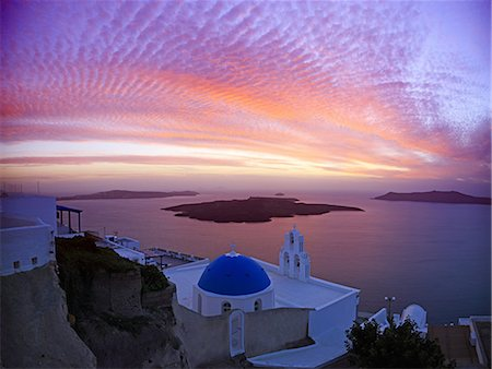Greece, Cyclades Islands, Santorini Island, Thira Stock Photo - Rights-Managed, Code: 859-08769965