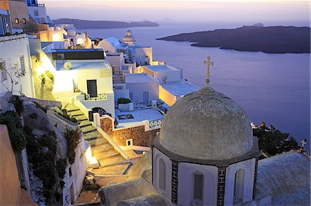 Greece, Cyclades Islands, Santorini Island, Thira Stock Photo - Rights-Managed, Code: 859-08769969