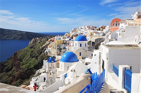 Greece, Cyclades islands, Santorini Island Stock Photo - Rights-Managed, Code: 859-08769997