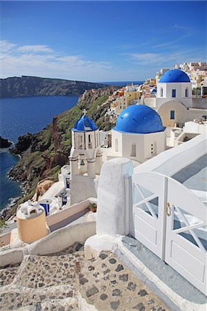 Greece, Cyclades islands, Santorini Island Stock Photo - Rights-Managed, Code: 859-08769998