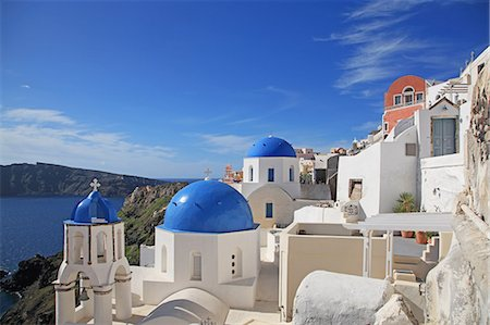 Greece, Cyclades islands, Santorini Island Stock Photo - Rights-Managed, Code: 859-08770001