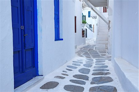 Greece, Cyclades Islands, Mykonos Island Stock Photo - Rights-Managed, Code: 859-08770024