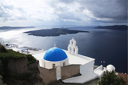 Greece, Cyclades Islands, Santorini Island, Thira Stock Photo - Rights-Managed, Code: 859-08770020