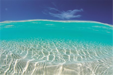 Clear Blue Tropical Water Stock Photo - Rights-Managed, Code: 859-03036506