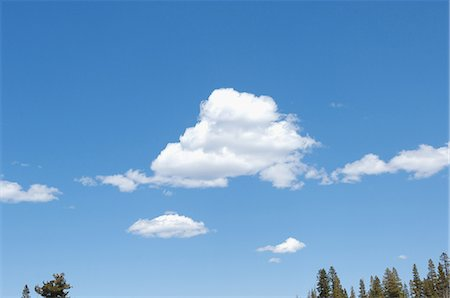 fluffy - Fluffy Clouds in Sky Stock Photo - Rights-Managed, Code: 859-03037534