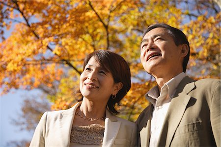 Portrait of a middle-aged couple smiling Stock Photo - Rights-Managed, Code: 859-03038556