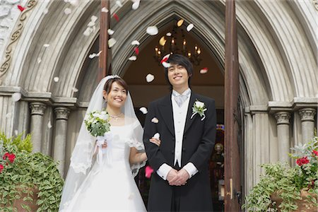 Bride And Groom Stock Photo - Rights-Managed, Code: 859-03039181