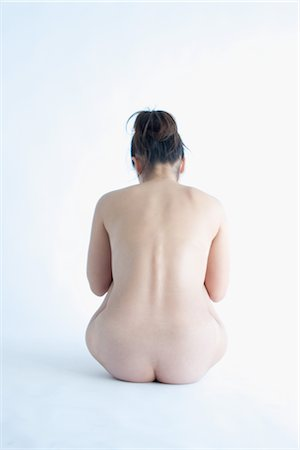 Nude of young Asian woman Stock Photo - Rights-Managed, Code: 859-03039879