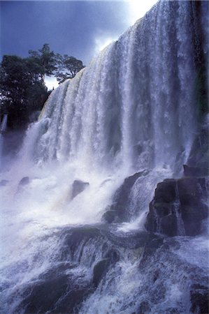 Waterfall Stock Photo - Rights-Managed, Code: 859-03042322