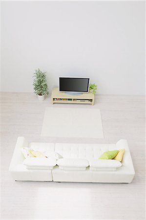 plasma - Living Room Stock Photo - Rights-Managed, Code: 859-03599762