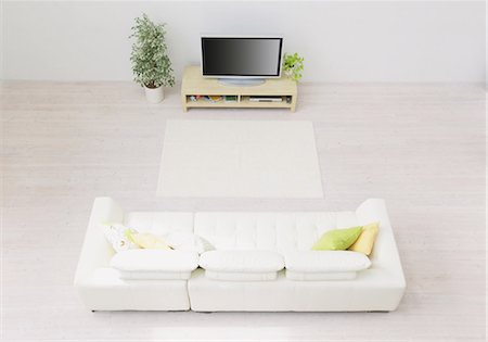 plasma - Living Room Stock Photo - Rights-Managed, Code: 859-03599763