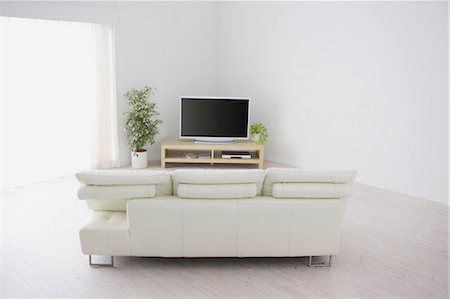 plasma - Living Room Stock Photo - Rights-Managed, Code: 859-03599855