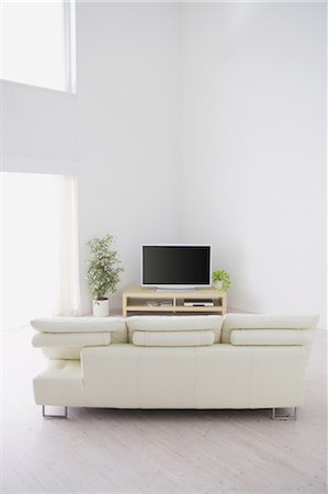 plasma - Living Room Stock Photo - Rights-Managed, Code: 859-03599856
