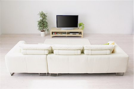 plasma - Living Room Stock Photo - Rights-Managed, Code: 859-03600651