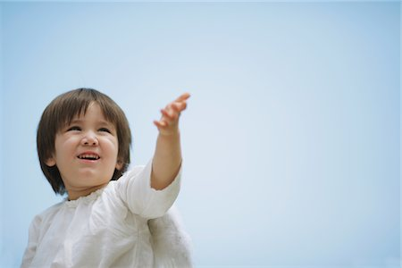 Boy Dressed-up as an Angel Stock Photo - Rights-Managed, Code: 859-03781942