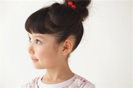 preteen girls faces photo - Beautiful Girl Stock Photo - Rights-Managed, Code: 859-03806070