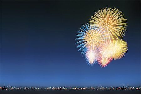 fireworks - Fireworks Display Stock Photo - Rights-Managed, Code: 859-03811151