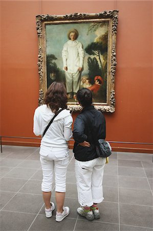 exhibition - Louvre Museum,Paris Stock Photo - Rights-Managed, Code: 859-03839081