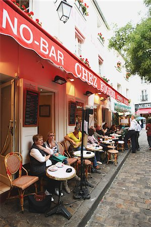 Montmartre,Paris Stock Photo - Rights-Managed, Code: 859-03839095
