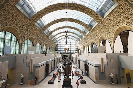 exhibition - Orsay Museum,France Stock Photo - Rights-Managed, Code: 859-03839137