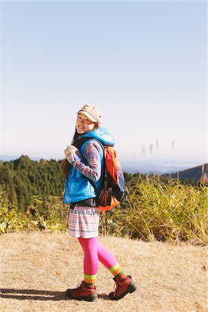 Young Woman Enjoying Nature Stock Photo - Rights-Managed, Code: 859-03839456