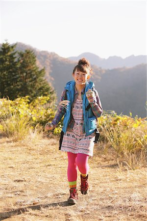 Young Woman Hiking Stock Photo - Rights-Managed, Code: 859-03839546