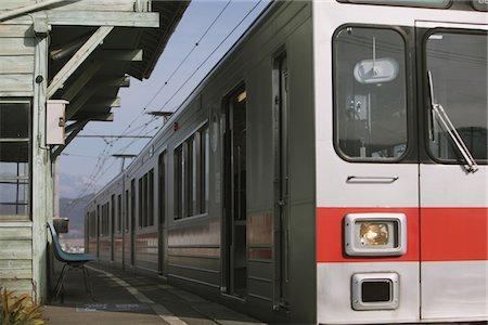 Train Station, Nagano, Japan Stock Photo - Rights-Managed, Code: 859-03860684