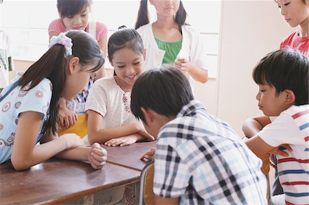 Students Discussing In Classroom Stock Photo - Rights-Managed, Code: 859-03860807